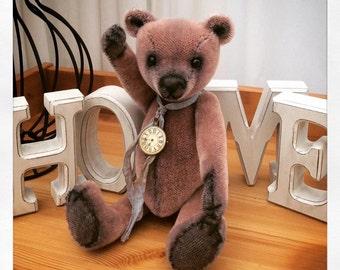 Corrin, 32cm tall, 1OAK artist bear made from short pile mohair