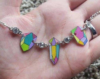 Gem Charm Necklace