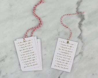 Wedding Gift Tags, Wedding Present, Gift Tags, Birthday Gift Tags.