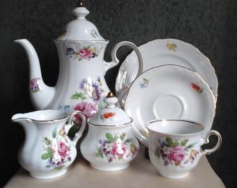 Vintage Winterling Bavaria Collectible Tea Set
