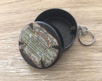Witch Hazel Pendants / Pendant Tin / Jewelry Box / Bracelet Charms / Necklace Charms / Keepsake