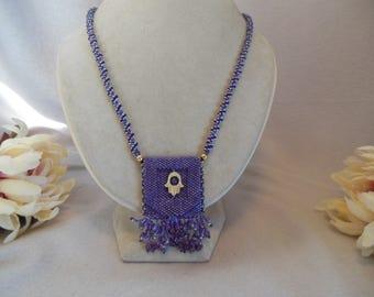 Purple Amulet Bag