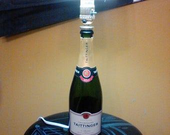 Tatitnger Champagne Bottle Lamp