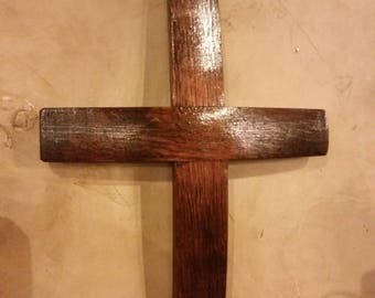 Wine Barrel Cross