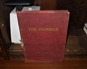 1925 The Hammer Mauston WI High School Yearbook