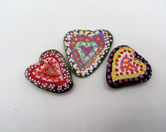 heart shape fridge magnets