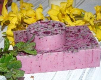 Lavender glycerine soap