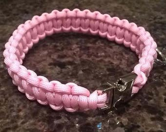 Paracord Dog Collars- you chose size and colour!