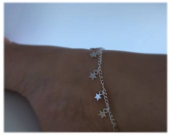 Cute star anklet