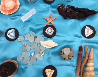 OOAK Sea Goddess Travel Altar