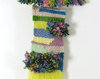 34 - Original wall weaving - handmade - unique Creation