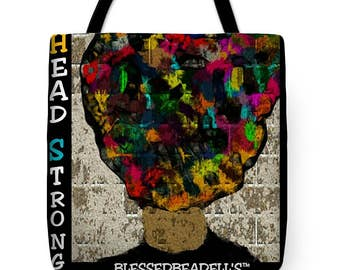 Head Strong Tote Bag