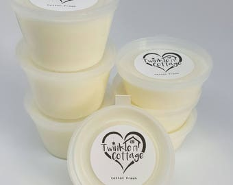 Cotton Fresh Scented Soy Wax / Tart Melt Tub