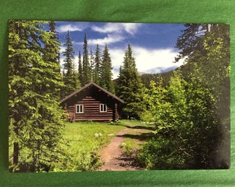 Cabin in the Woods Postcard