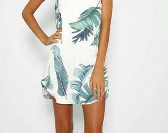 Large Print Floral Dress