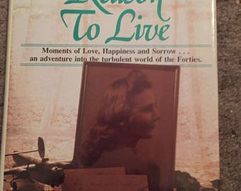A reason to live book signed by author John Harold robison