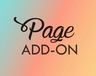 Website - Page Add-On