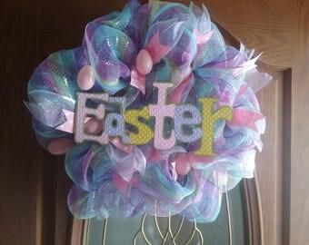 Beautiful handmade Easter wreath