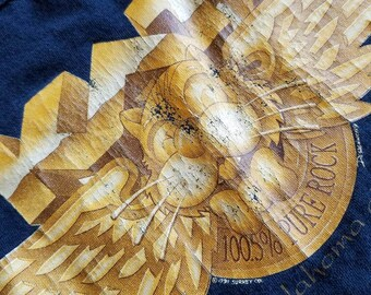 Oklahoma City 100.5 Pure Rock KAT Sleeveless Shirt size M #011