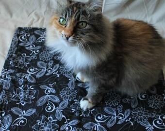 Kitty Cat Mat - Floral
