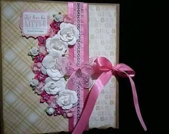 12 Months of Baby Girl Scrapbook
