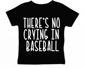 There's no crying in baseball (kids)