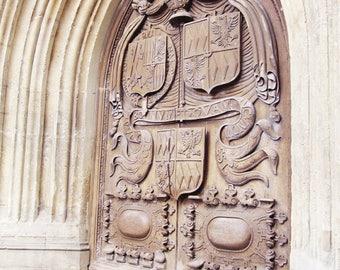 England Photography, Bath Abbey Church, England Wall Decor, Wall Art, Travel Photography, Door Photography, Old Building Photography