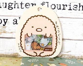 Discontinued Sumikko gurashi Flake Stickers, Sticker Sack, Kawaii, Kawaii Stickers, Tonkatsu