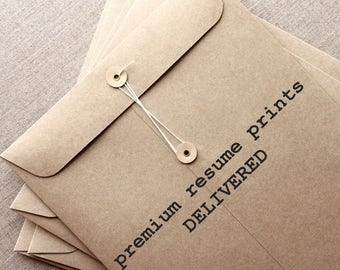 beautiful resume prints 2 day delivery by resumates on etsy