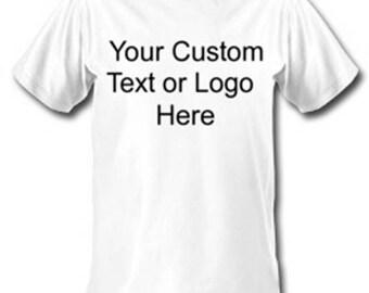 Custom shirt transfer or embroidery