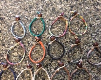 Custom made for you hemp Bracelets