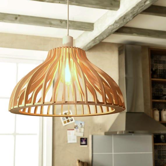 suspension luminaire design bois curved. Black Bedroom Furniture Sets. Home Design Ideas