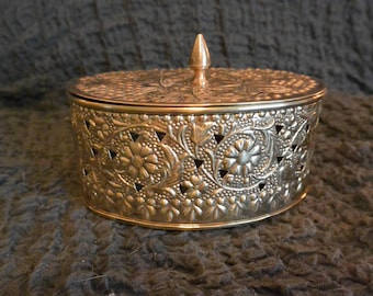Brass Potpourri Container