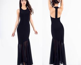 Prom Dress, Mermaid Dress, Formal Dress, Party Dress, Formal Gown, Evening Gown, Asymmetric dress, Extravagant dress, Evening dress