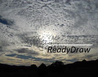 Cloudy Sky Digital Download