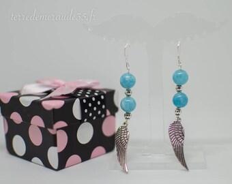 Acute Marine earrings