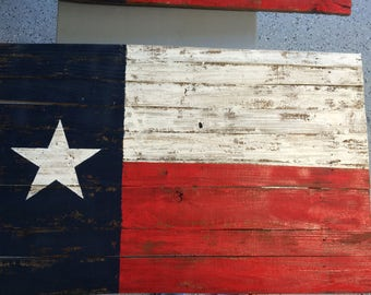 Rustic Pallet Wood State Flags