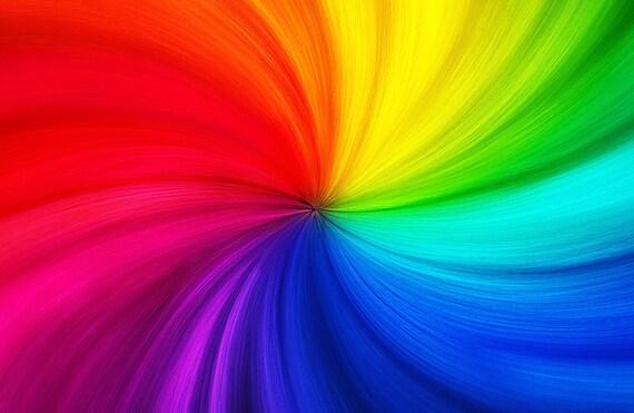 Trolls Birthday Background Rainbow Hair Trolls Background