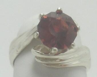A lovely Spessartine Garnet Ring