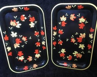 Vintage TV Lap Trays - Set of 2