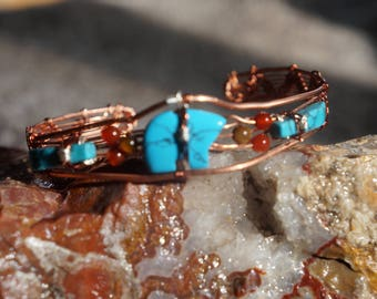 Turquoise Bear Bracelet