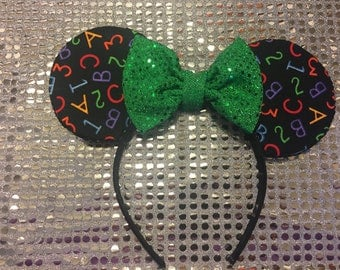 Teacher Minnie Mouse Ears