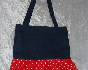 Tote: Minnie inspired tote bag; Disney Bag; Disney Tote