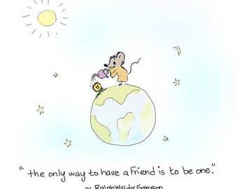 Print - Be a friend