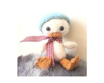 Amigurumi Duck Elmer, Gehaakt Eendje Elmer
