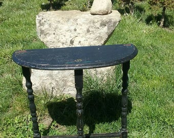 1900's Travelers pegged Tea Table