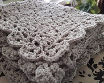 Vintage Style Baby Blanket