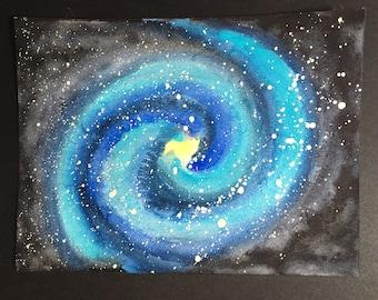 Galaxy, original watercolor