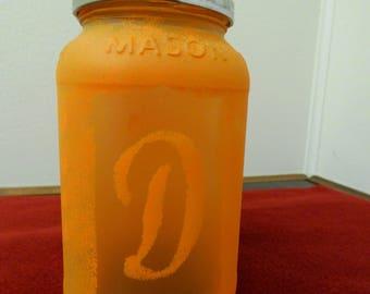 Initial Gift Jar