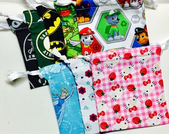Character Party Favor Bags